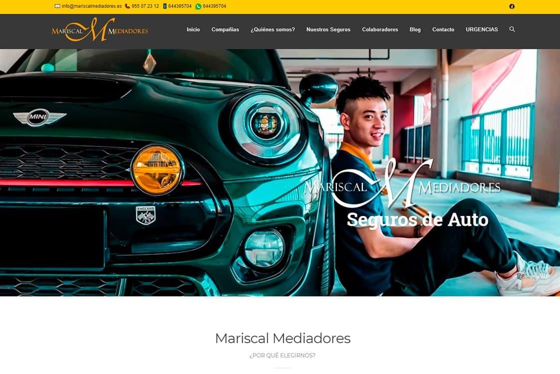 diseño web corporativo mariscal mediadores